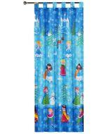 Snow Princess Tab Top Curtains