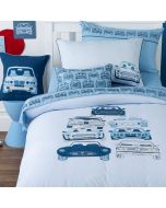 Stacked Cars Quilt Cover Set