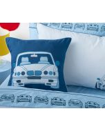 Stacked Cars Square Cushion