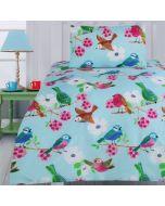 Summer Birds Quilt Cover Set