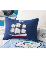 Treasure Map Oblong Cushion