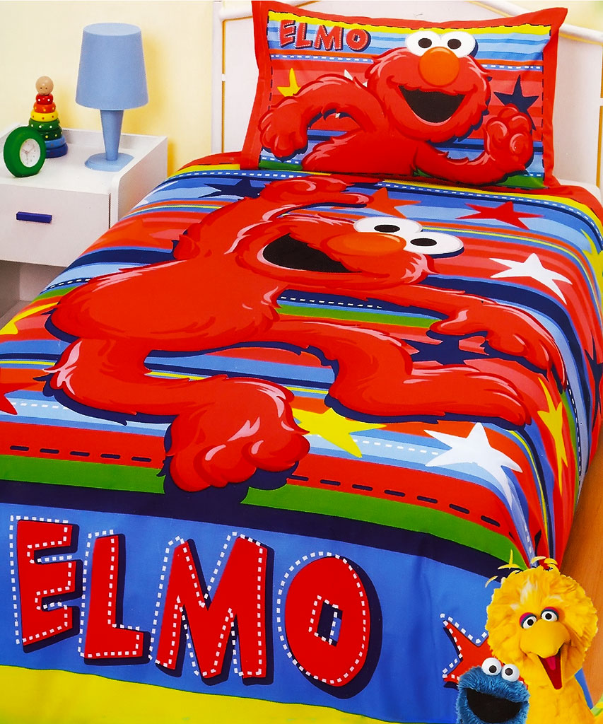 caring for your elmo bedding set kids bedding dreams 11507 | elmo stars bedding