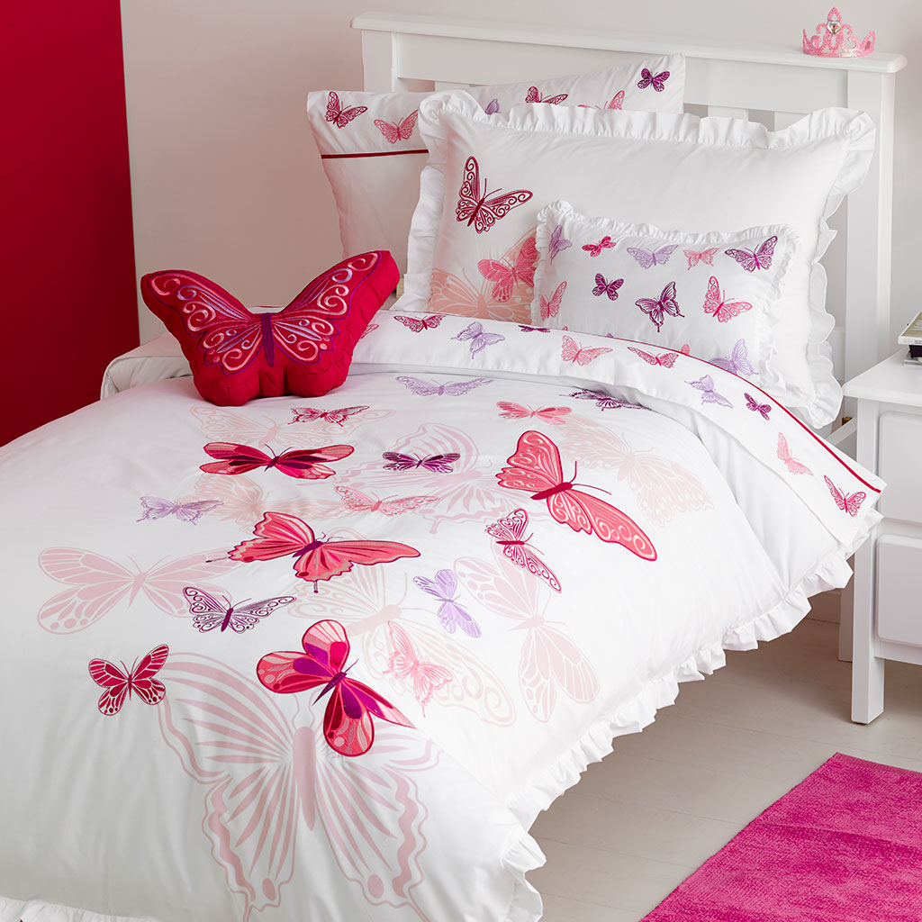 Butterfly Duvet Covers Vs Comforters Kids Bedding Dreams
