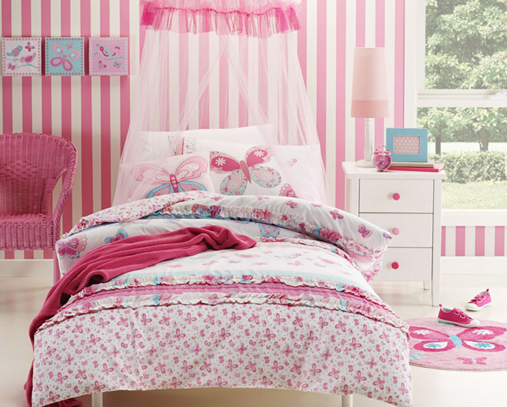 Butterfly Bedroom Decor Ideas - Kids Bedding Dreams