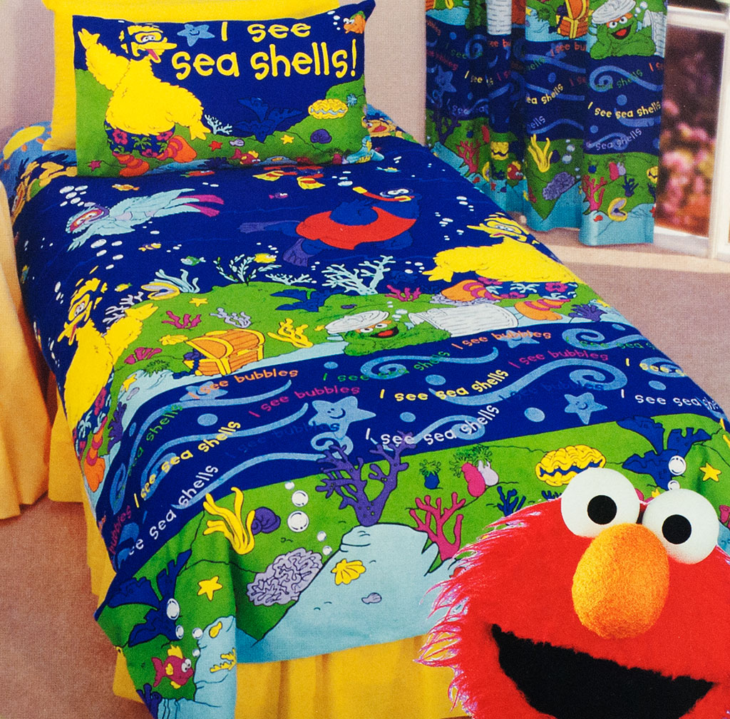 A Sesame Street Bedroom Theme