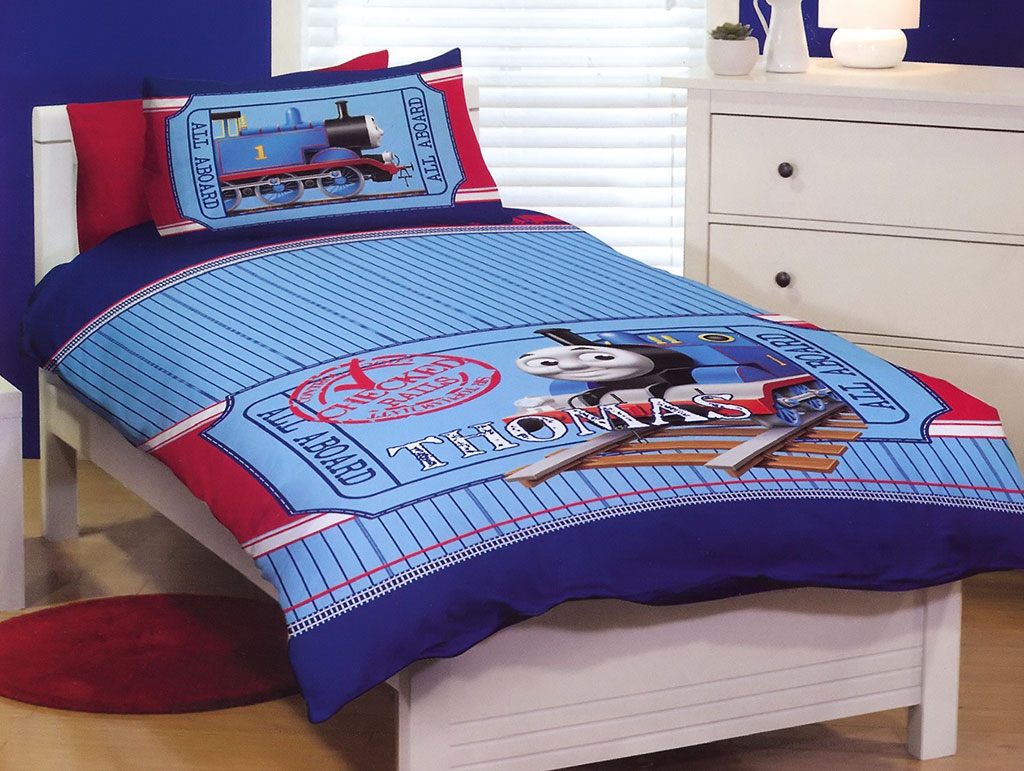 A Thomas the Tank Engine Bedroom. A Thomas the Tank Engine Bedroom   Kids Bedding Dreams