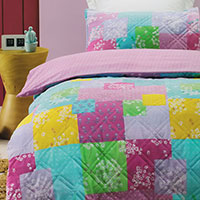 Kids' comforters and doonas offer warmth and style