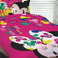 Kids' bedding of all your favorite characters just like Disney's Mickey and Minnie