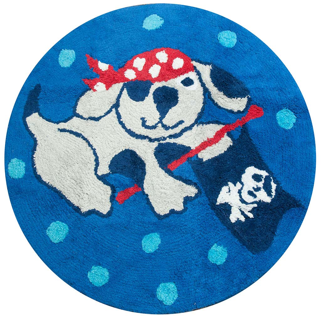 Ahoy There Pirate Floor Mat
