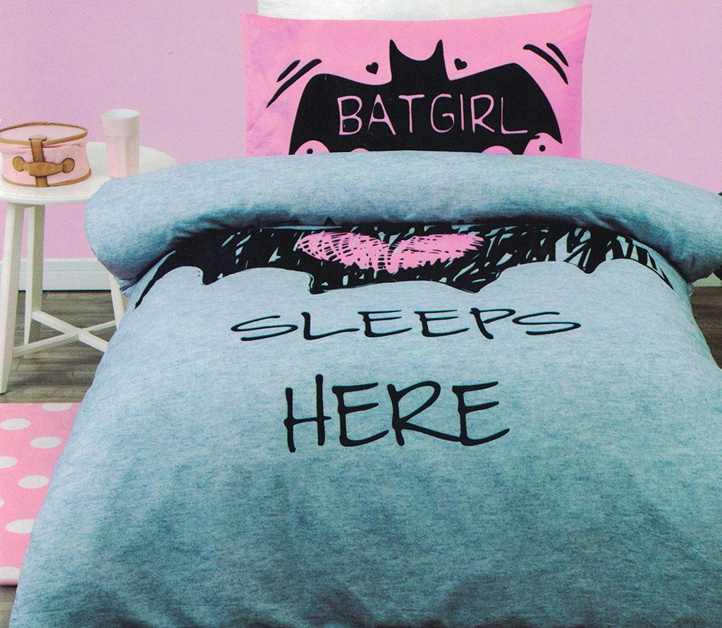 Batgirl Quilt Cover Set
