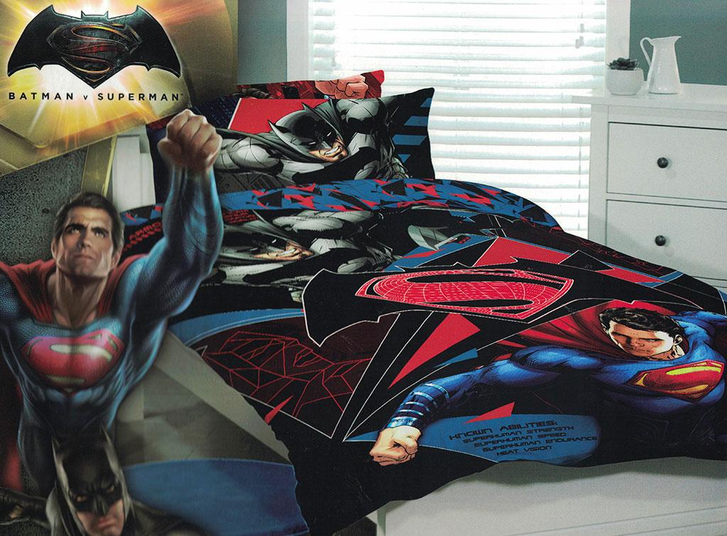Batman v Superman Quilt Cover Set