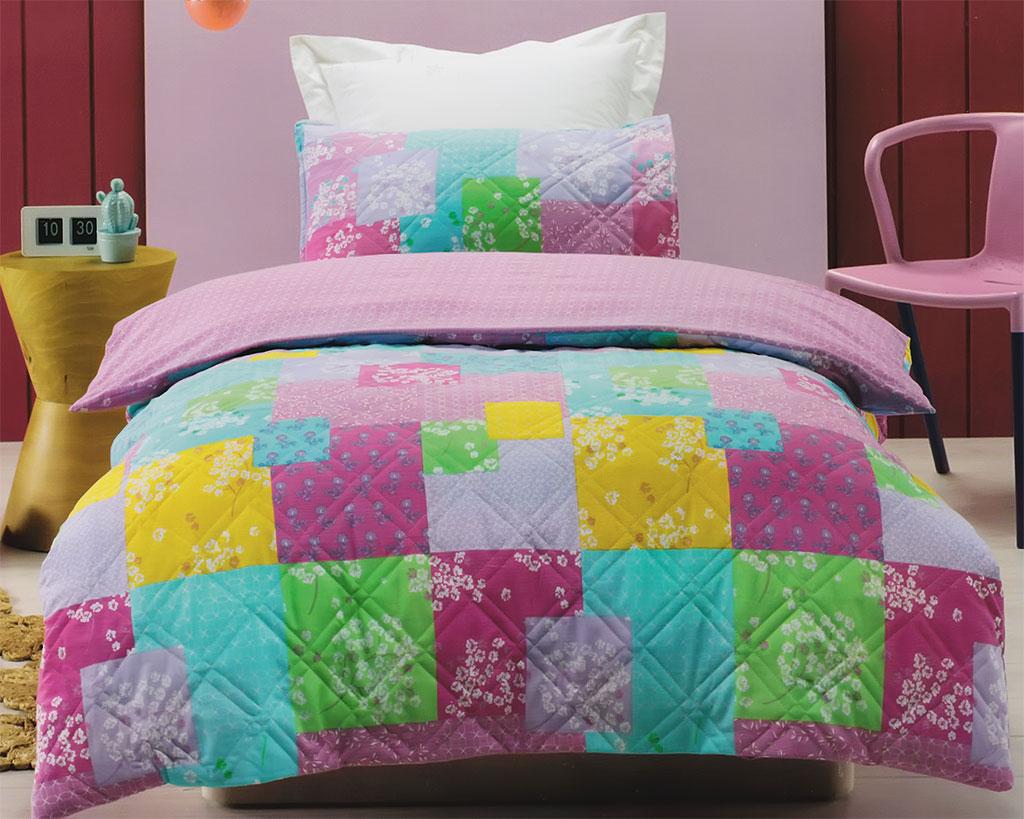 Bella Comforter Set Patchwork