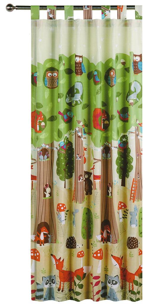 The Big Tree Tab Top Curtains