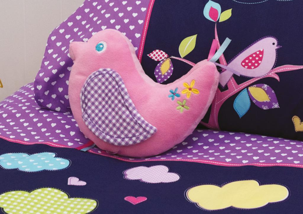 Birdie Tree Cushion
