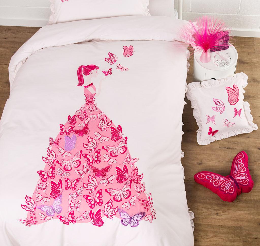 Butterfly Dress Quilt Cover Set