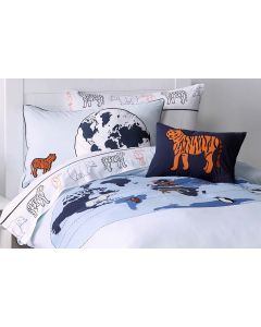 Animal Atlas Quilt Cover Set