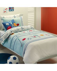 Ball Games Quilt Cover Set