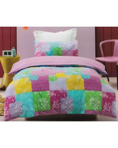 Bella Comforter Set Patchwork