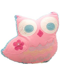 Birdcage Owl Cushion