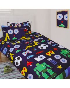 Boys Toys Quilt Cover Set