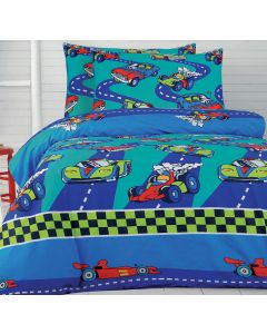 Cars Quilt Cover Set