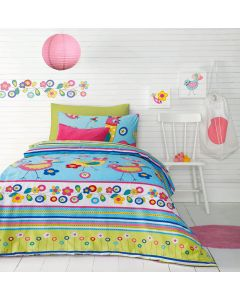 Chicky Quilt Cover Set