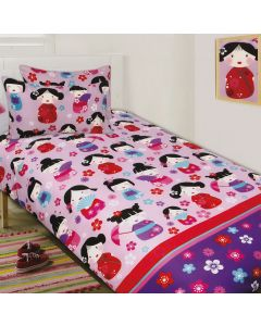 China Doll Quilt Cover Set