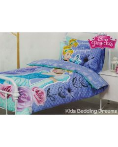 Graceful Cinderella Quilt Cover Set