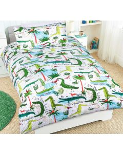 Crocodile Quilt Cover Set