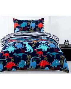 Dino Fun Quilt Cover Set