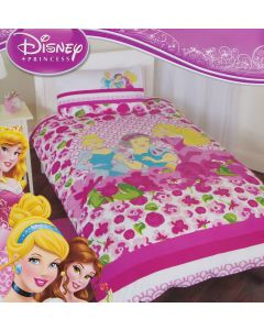 Disney Princess Bouquet Quilt Cover Set