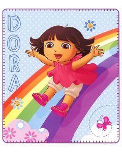 Dora the Explorer Rainbow Fun Blanket