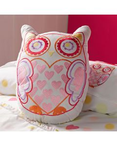 Dotty Days Owl Cushion