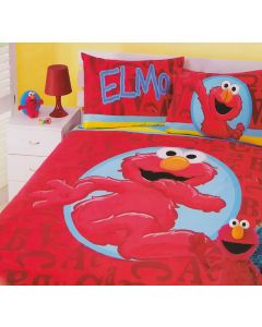 Elmo Red Quilt Cover Set