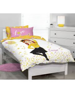 Emma Wiggle Quilt Cover Set