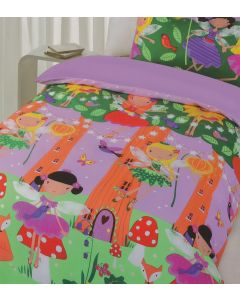 Fairy Tree Quilt Cover Set