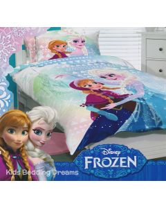 Frozen Sisters Quilt Cover Set