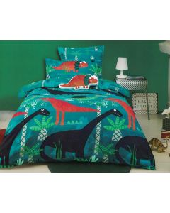 Funky Dinosaur Quilt Cover Set