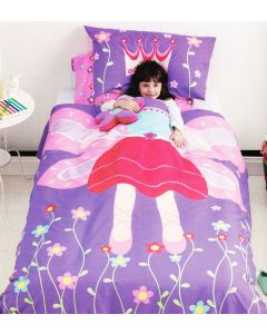 Garden Fairy Quilt Cover Set