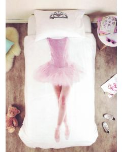Your little princess can transform into a dancing ballerina, complete with tiara, tulle tutu skirt and ballet slippers, whenever they're tucked away in bed.