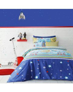 Moon and Back Quilt Cover Set