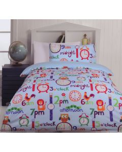 O'clock Duvet Cover