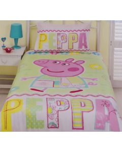 Peppa Pig Summer Quilt Cover Set