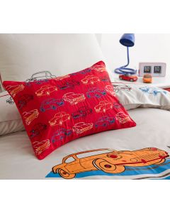 Retro Cars Oblong Cushion