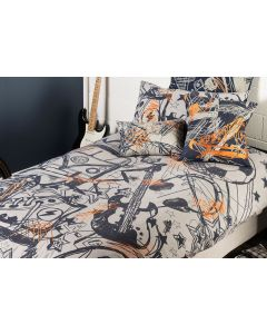 Scribble Quilt Cover Set