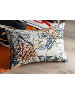Scribble Oblong Cushion