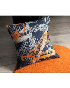Scribble Square Cushion