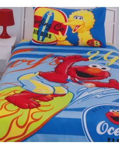 Sesame Street Surfs Up Quilt Cover Set