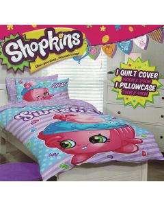 Shopkins Little Sweetie Quilt Cover Set