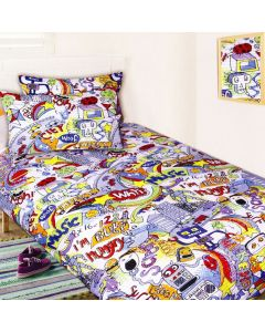 Sketch Pad Quilt Cover Set